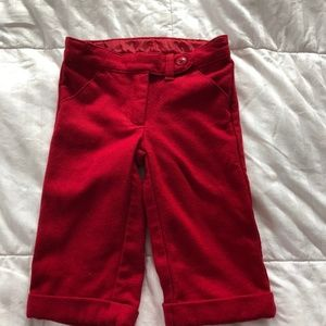 Janie and Jack baby girl wool pants 3-6 months old